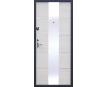 Дверь входная металлическая Alta Tech белый ясень (правая)