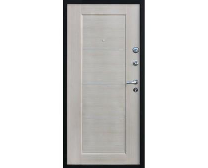 Дверь входная металлическая Ferrum Шелк светлый орех (правая)