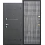 Дверь входная металлическая Гарда МУАР Венге тобакко