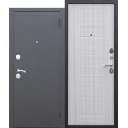 Дверь входная металлическая Гарда белый ясень