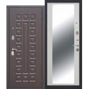 Входная металлическая дверь  МОНАРХ Зеркало Венге/ Белый ясень