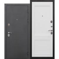 Входная металлическая дверь  Троя муар  Аляска Царга/Орех сиена/Эш вайт/Палисандр темный