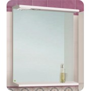 Шкаф зеркальный VACO 600 с подсветкой
