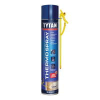 TYTAN теплоизоляция СТД напыляемая полиуретановая THERMOSPRAY, 800 мл