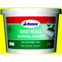 Шпатлевка полимер-клеевая на основе ПВА Д-002